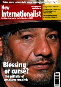 New Internationalist issue 470 magazine cover