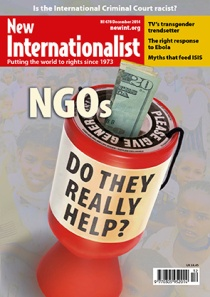 New Internationalist issue 478 magazine cover