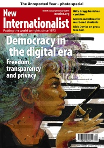 New Internationalist issue 479 magazine cover