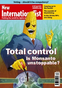 New Internationalist issue 481 magazine cover