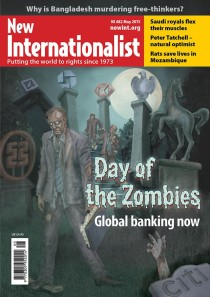New Internationalist issue 482 magazine cover