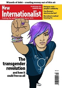 New Internationalist issue 486 magazine cover