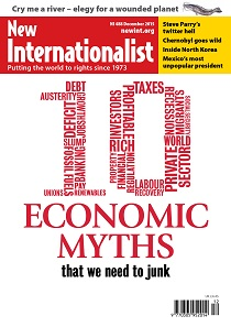 New Internationalist issue 488 magazine cover