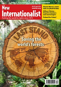 New Internationalist issue 491 magazine cover