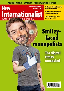 New Internationalist issue 494 magazine cover