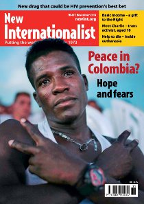 New Internationalist issue 497 magazine cover
