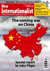 New Internationalist issue 498 magazine cover