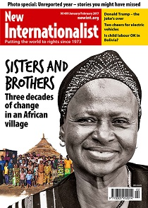 New Internationalist issue 499 magazine cover