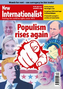 New Internationalist issue 501 magazine cover