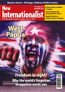 New Internationalist issue 502 magazine cover