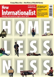 New Internationalist issue 503 magazine cover