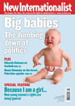 New Internationalist issue 405 magazine cover
