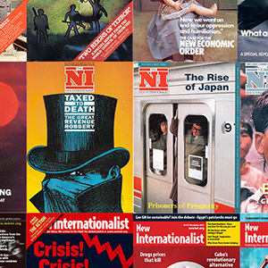 Old covers of New Internationalist