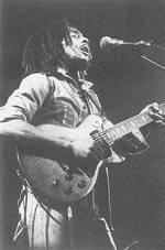 Bob Marley saluted Zimbabwe with reggae. Photo: Camera Press