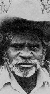 Whisky - the Aborigine stockman.