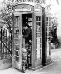 If you have to use public facilities, making contact through a telephone box can be a struggle.