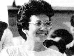 Cory Aquino - a prisoner of the military?