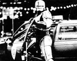 A Robocop still has to drive.