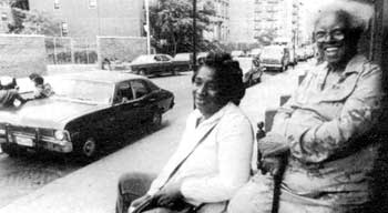 Middlebrook (left), Nixon (right): 'white people want Harlem back.'