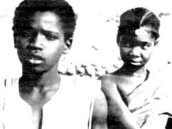 Desert hearts: Bila and Nopoko in the Burkinabê film Yaaba.