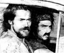 Wild things: Willem Dafoe and Tom Cruise as Vietnam veterans.