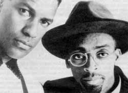 Cool, elegant and all that jazz - Denzel Washington and Spike Lee.
