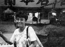 Fighting for Japan's poor - community union leader Yukie Kinugawa.