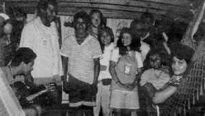 Deafened but not defeated: the Chico Mendes and company. From left to right: Moises, Leonardo, Evilasio, Alex, Cris, Marinilza, Ze, Tonhao, Macedo, Rena.