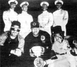 'The future holds nothing but confrontation': Public Enemy 1991.