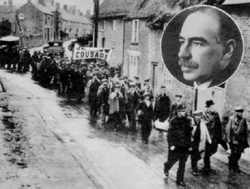 John Maynard Keynes and the Jarrow Marchers. The Great Depression of the 1930's conditions the West's ideas about 'poverty'.