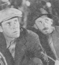 Henry Fonda (left), perfectly cast as Tom Joad, at the moral centre of the film.