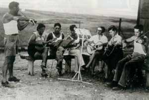 Pioneers of the kibbutz in the promised land: ideals begin to crumble beneath debt and doubt.