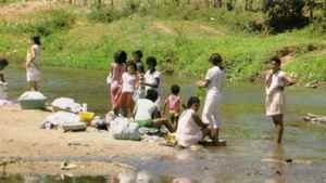 Washing in streams infested with disease and toxins, the women of the Alto face a constant conflict with illness.