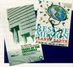 Two of the books on review