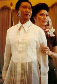 Ferdinand and Imelda Marcos maintained their life-style through networks of bankers and cronies.