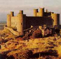 Bastion of Colonialism: Harlech Castle.
