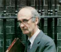 Would the Gulf War have happened if Saddam Hussein had not received millions in credits from British banks? Is or isn't Mark Thatcher connected with the arms trade? Why was former Defence Secretary John Nott (pictured) interested in reporters' stories?