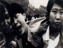 Where are they now?: The Tiananmen students followed up in Apted's film.