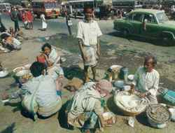 Daily dwelling: an ongoing struggle on the streets of Calcutta over the most basic of resources.