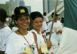 Descending on the Congress in Brasilia: the National Movement of Street Boys and Girls in action.