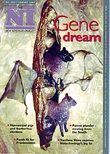 cover of latest NI magazine - Gene Dream