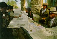 Selling the news: papers proliferate but Mongolian journalists say the price of information is too high.