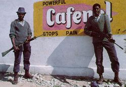 Under fire - Zimbabwe's 'trigger-happy' police are in trouble again.