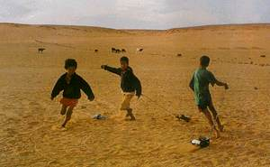Playtime - peace negotiations for Western Sahara go around in circles.