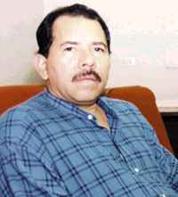 Daniel Ortega - one of the architects of the Sandinista revolution.