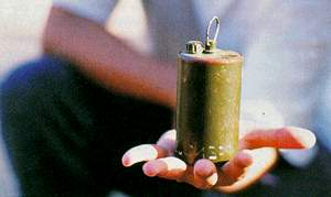 Finland hands out aid but not action on landmines.