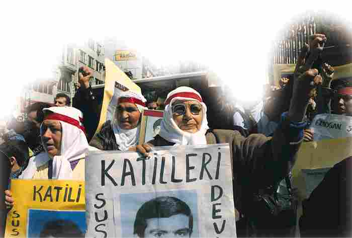 Every Saturday in Istanbul, Mothers of the Disappeared bear witness on the streets.