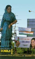 Scaffolding of power behind the democratic facade. Elections do little for women at the bottom in Madras.