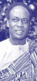 Kwame Nkrumah: soon became the voice of Pan-Africanism.