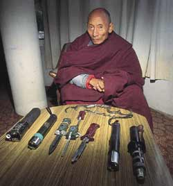 Palden Gyatso... the victim.